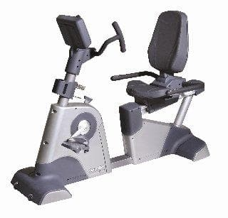 Lifeline Fitness Generator Recumbent Bike 9.0R Dynamic For Commercial Use