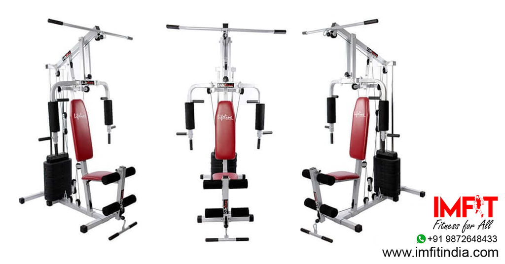 Gym Machines - Lifeline Home Gym Set 002 Workout At Home