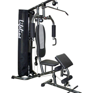 Home Gym Equipment Online - Lifeline Home Gym Machine Deluxe 005 Bundles With 5 Kg Dumbbell Pair