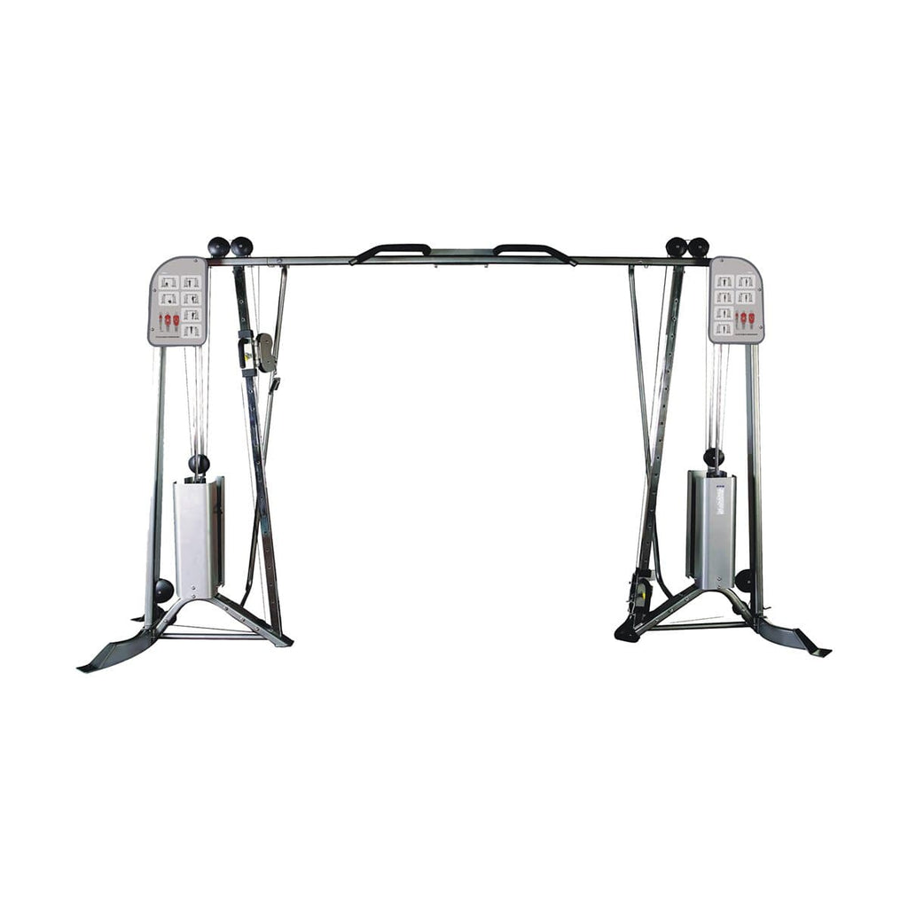 Viva Fitness IT 9313 Cable Crossover Commercial Gym Equipment 200 LbsX2
