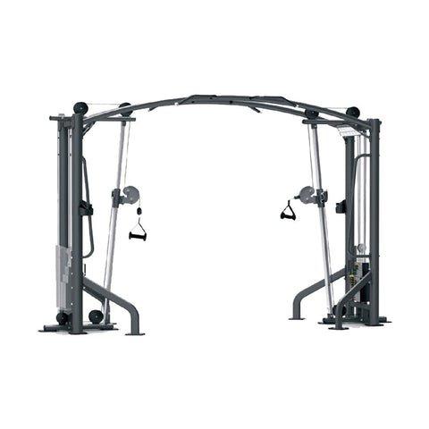 Image of Viva Fitness IT 9325+IT 9327OPT+IT 9325 DELUX CABLE CROSSOVER COMMERCIAL FITNESS MACHINE 275x2LBS