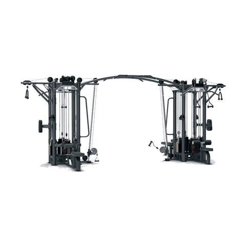 Viva Fitness IT 9327+IT9327OPT+IT 9327 (8 STATION GYM) COMMERCIAL FITNESS EQUIPMENT 275x8 LBS