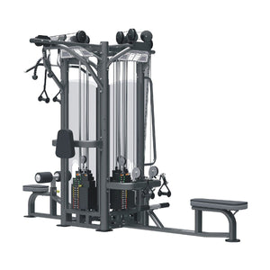 Viva Fitness IT9327 4 STATION MULTI GYM COMMERCIAL FITNESS EQUIPMENT 275 X4LBS