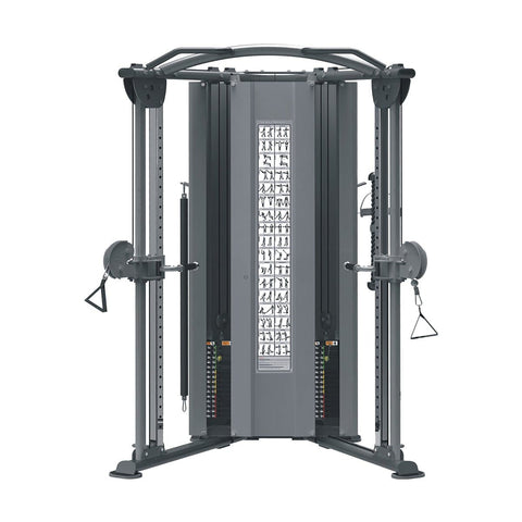 Image of Viva Fitness IT 9330 FUNCTIONAL TRAINER COMMERCIAL FITNESS MACHINE 200 LBSX2