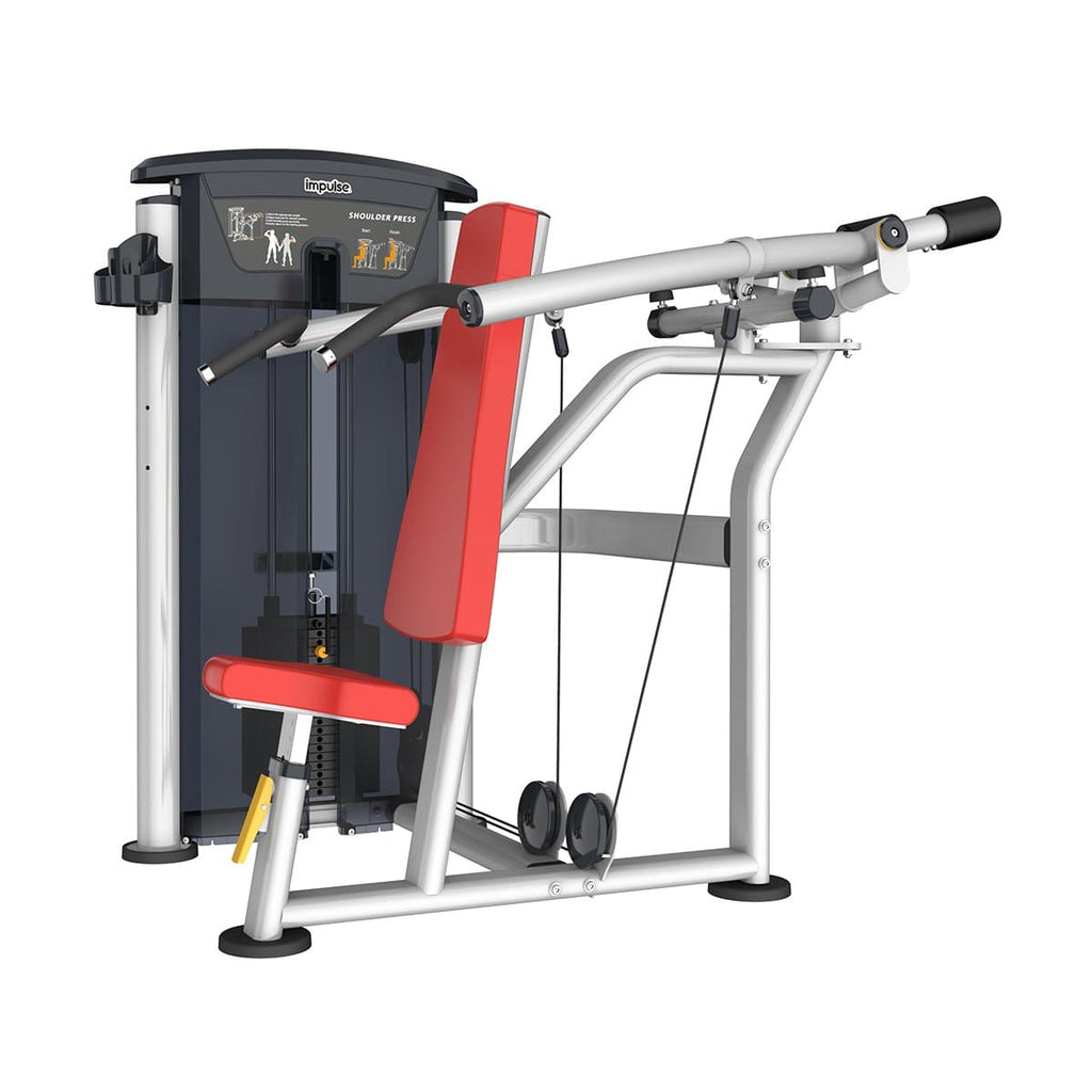 Viva Fitness IT 9512 SHOULDER PRESS COMMERCIAL FITNESS EQUIPMENT 200 LBS