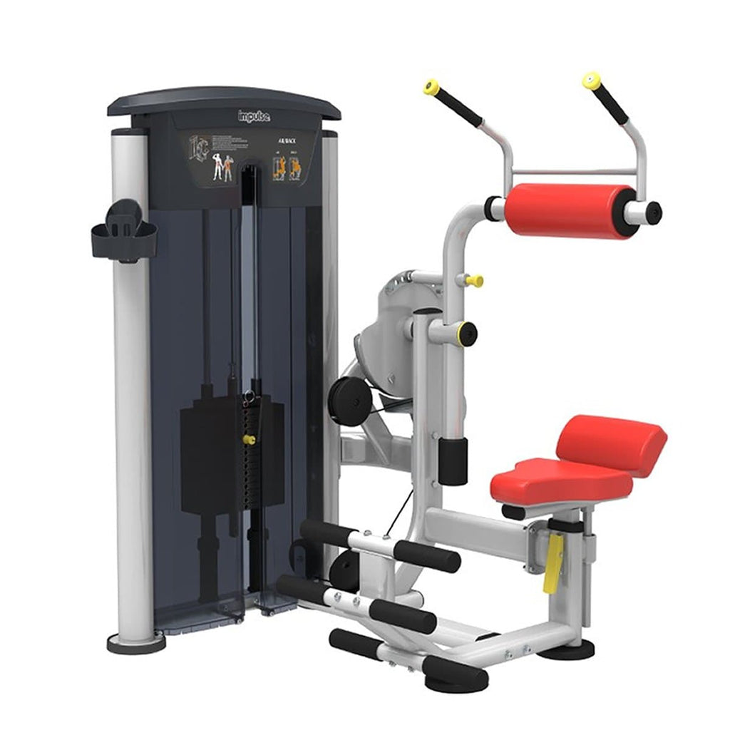 Viva Fitness IT 9534 ABDOMINAL / BACK EXT COMMERCIAL GYM MACHINE 200 LBS