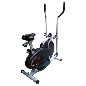 Viva Fitness Elliptical Cross Trainer With Seat - KH-195 Double Burner Commercial Elliptical Trainer For Workout