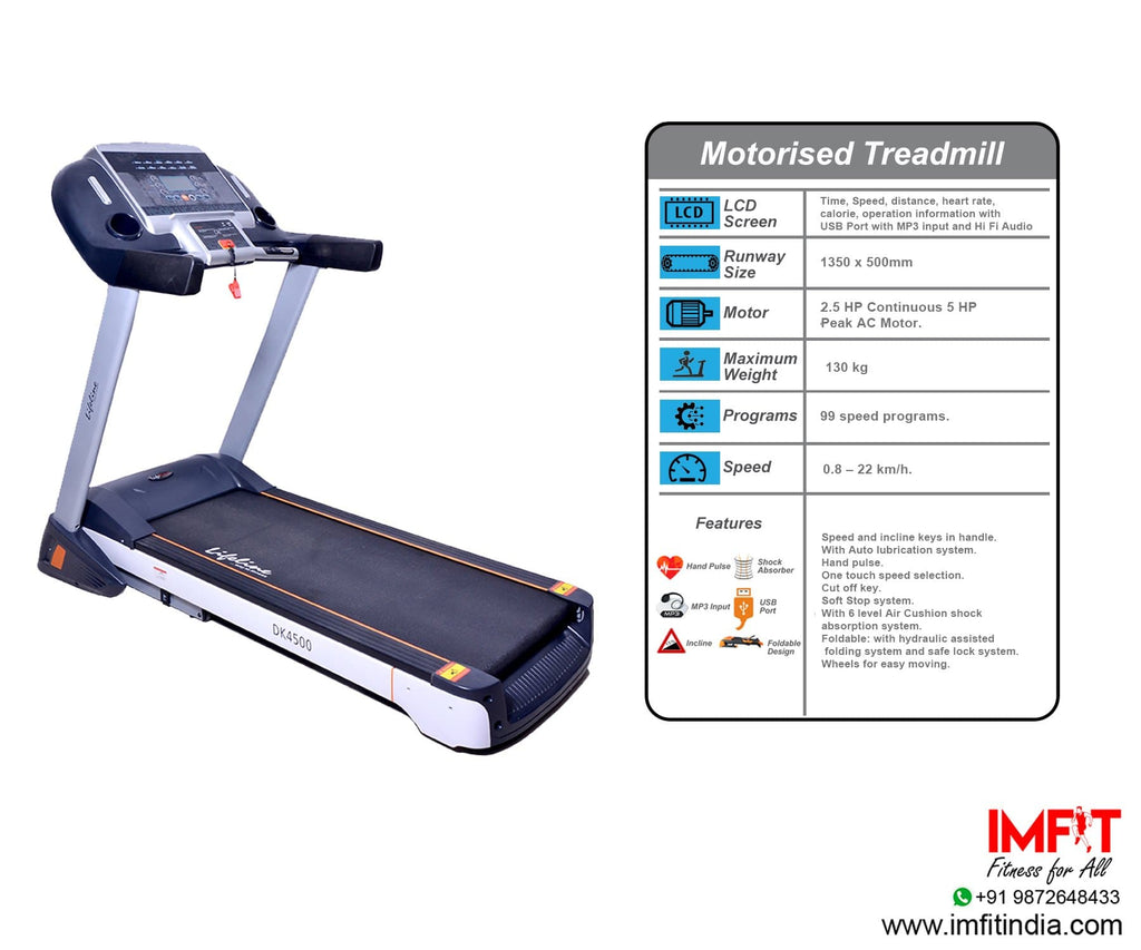 Lifeline Treadmill Fitness Equipment