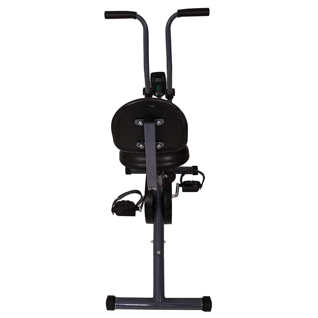 Lifeline Exercise Air Bike Back Support with Moving Handle for Weight Loss at Home Use-IMFIT