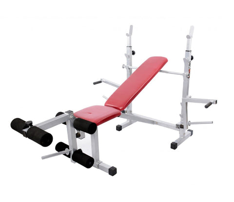 Lifeline 309A Multi Bench Press 8 in 1 Home Gym Exercise Machine
