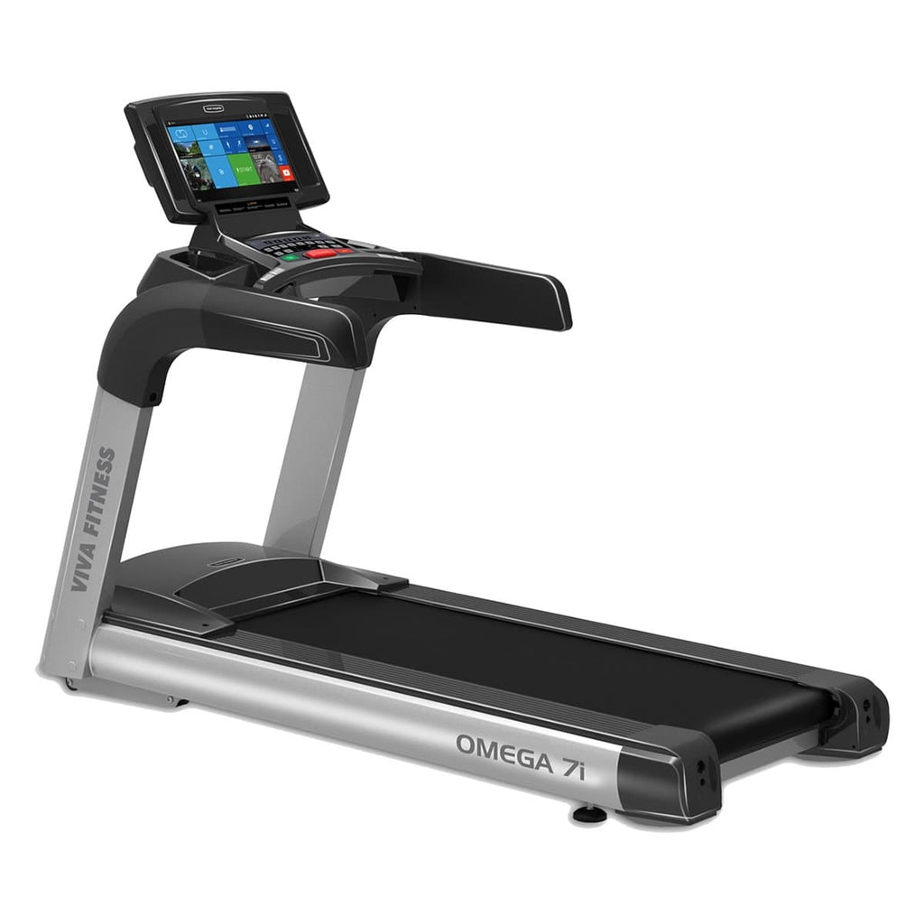 Commercial Treadmill Lowest Price In India For Home Use - Viva Fitness OMEGA 7i 4 HP AC Motorized Running Machine