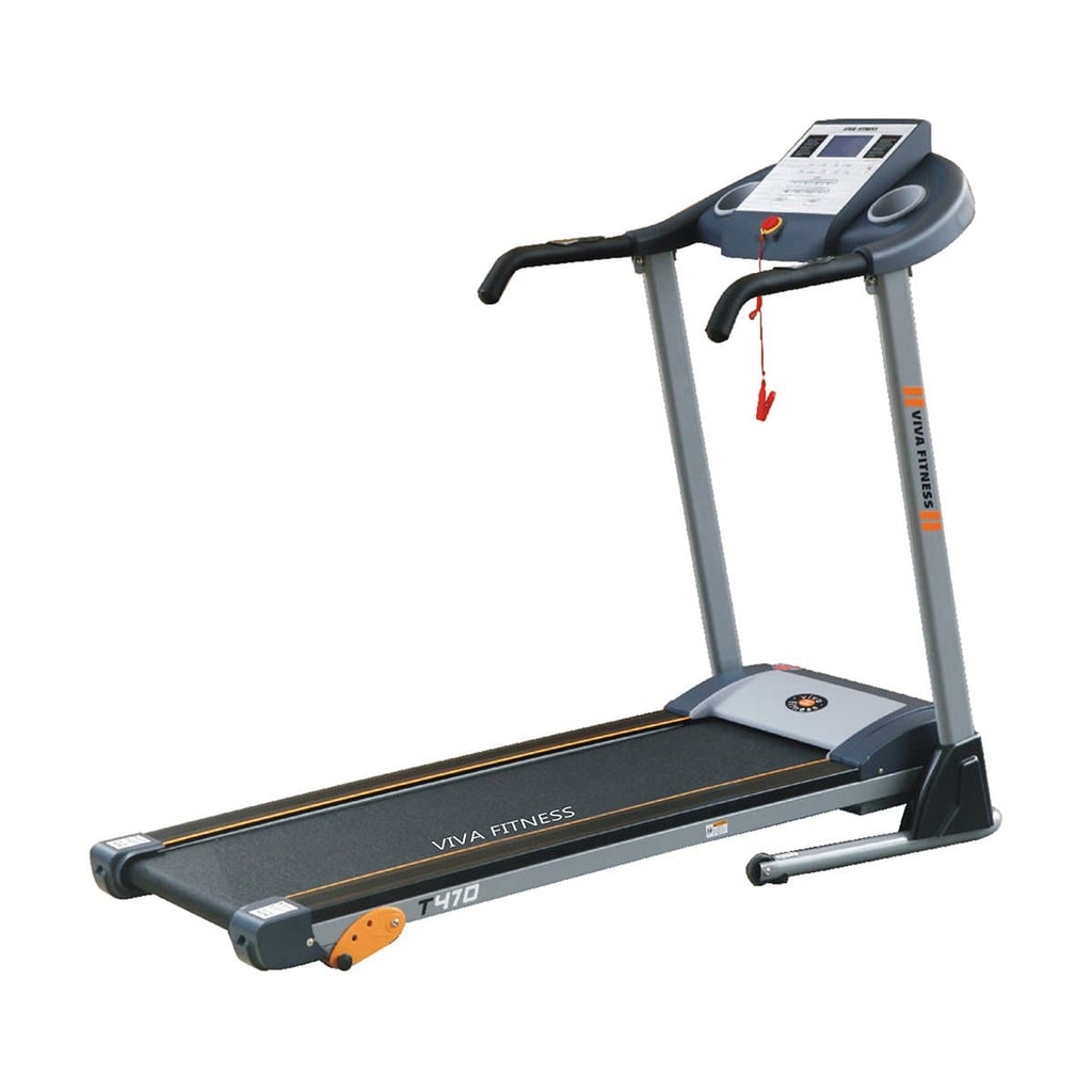 Best Treadmill For Home - Viva Fitness T 470 DC 3 Level Manual Incline Motorized Running Machine