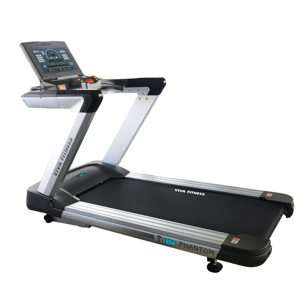 Commercial Treadmill - Viva Fitness T 1650 4 HP AC Electric Treadmill for Running