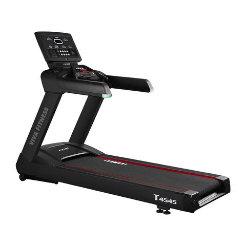 Commercial Gym Treadmill - Viva Fitness T 4545 4 HP AC Commercial Electric Treadmill for Running