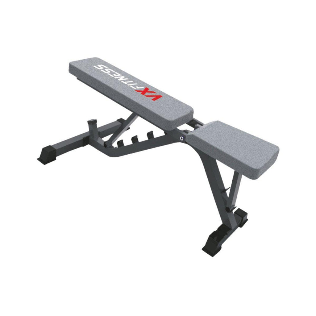 Sit Up Bench Machine - Viva Fitness VX-203A Adjustable Utility Bench For Fitness