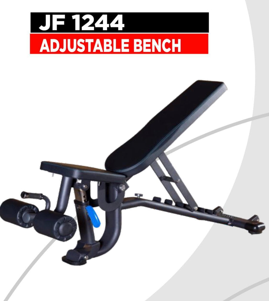 Viva Fitness JF 1244 High Quality Adjustable Bench (Flat,Incline,Decline Bench)
