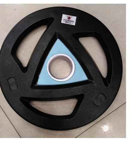 Fitness Bull Solid Olympic Plates (pair) 50mm
