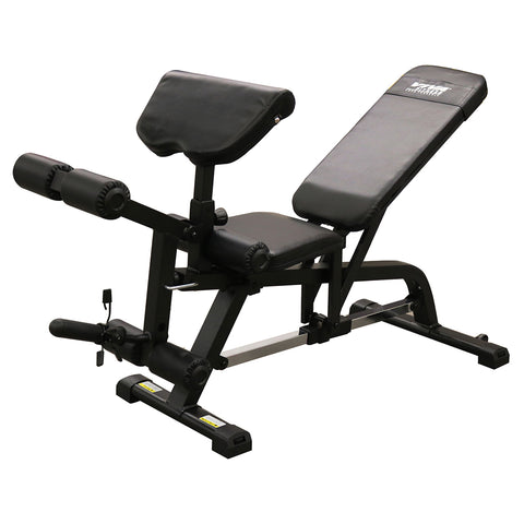 Viva Fitness X100 FID Weight Bench with Preacher Curl