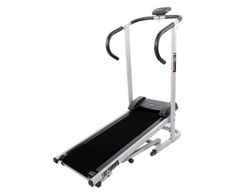 Image of Small Treadmill - Lifeline LYSN5213 Manual Jogger Exercise Machine For Home Use