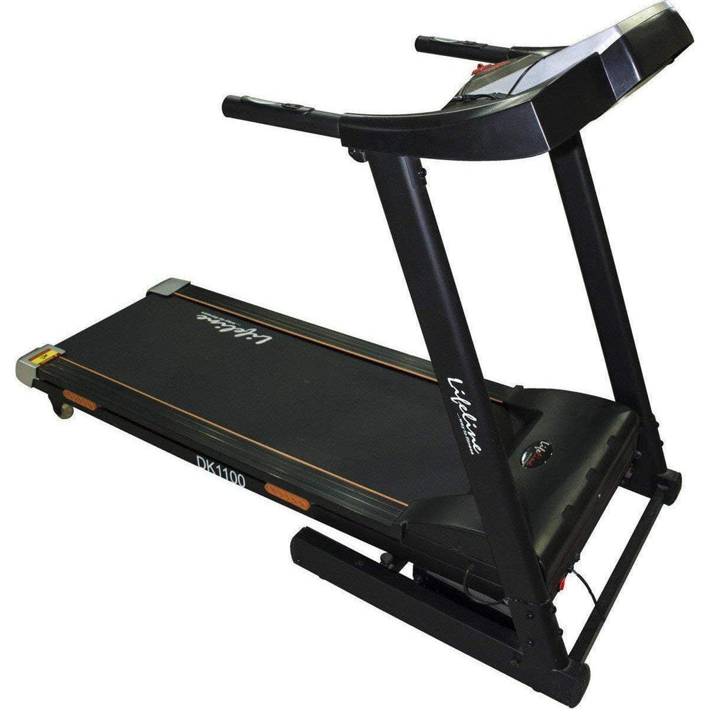 Jogging Track Machine- Lifeline DK 1100 Motorized Treadmill For Home Use