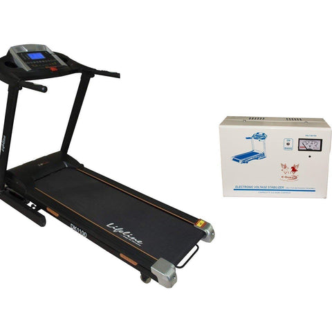 Image of Motorized Treadmill For Home Use - Lifeline DK 1100