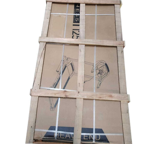 Lifeline Treadmill DK 3500 Automatic Running Machine - wooden crate
