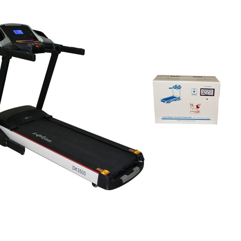 Lifeline DK 3500 Automatic Treadmill For Home Use||Available on EMIs-IMFIT