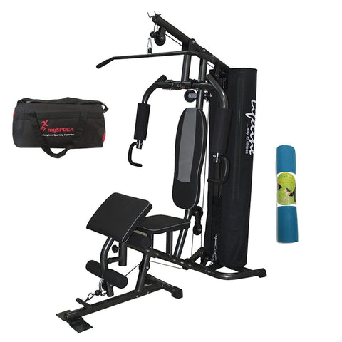 Image of Lifeline HG005 home gym set with accessories