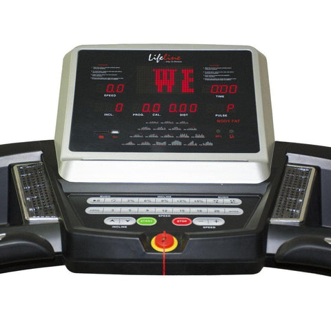 Best Low Cost Commercial Treadmill - Lifeline LL 5500 Motorized Treadmill For Home Use