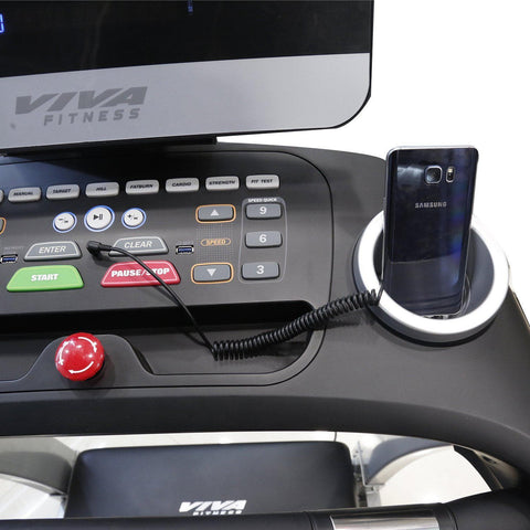 Viva Fitness Alpha-5 Motorized Treadmill for Home Use||Available on EMIs-IMFIT