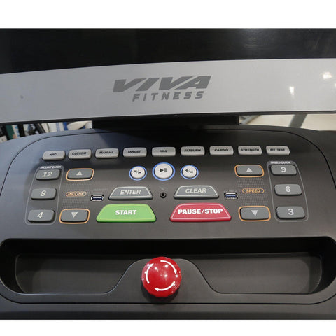 Image of Viva Fitness Alpha-5 Motorized Treadmill for Home Use||Available on EMIs-IMFIT
