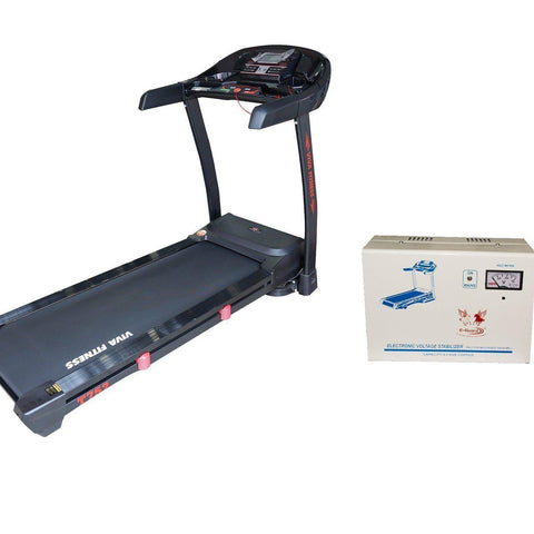 Image of Automatic Treadmill For Home Use - Viva Fitness T-752