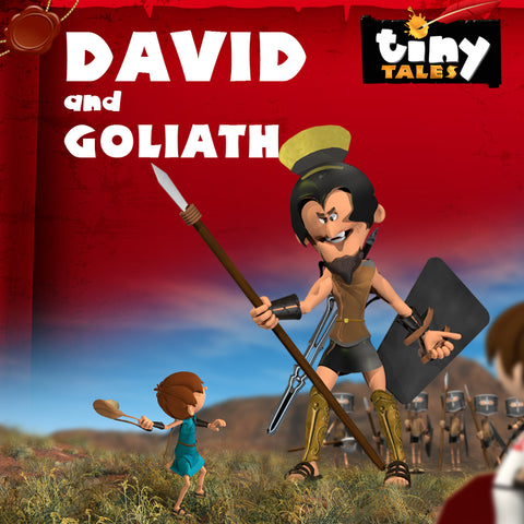 TINY TALES: David and Goliath!