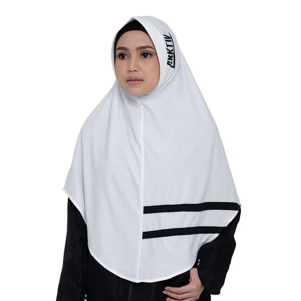 Cool Dynamic White | Hijab Sport