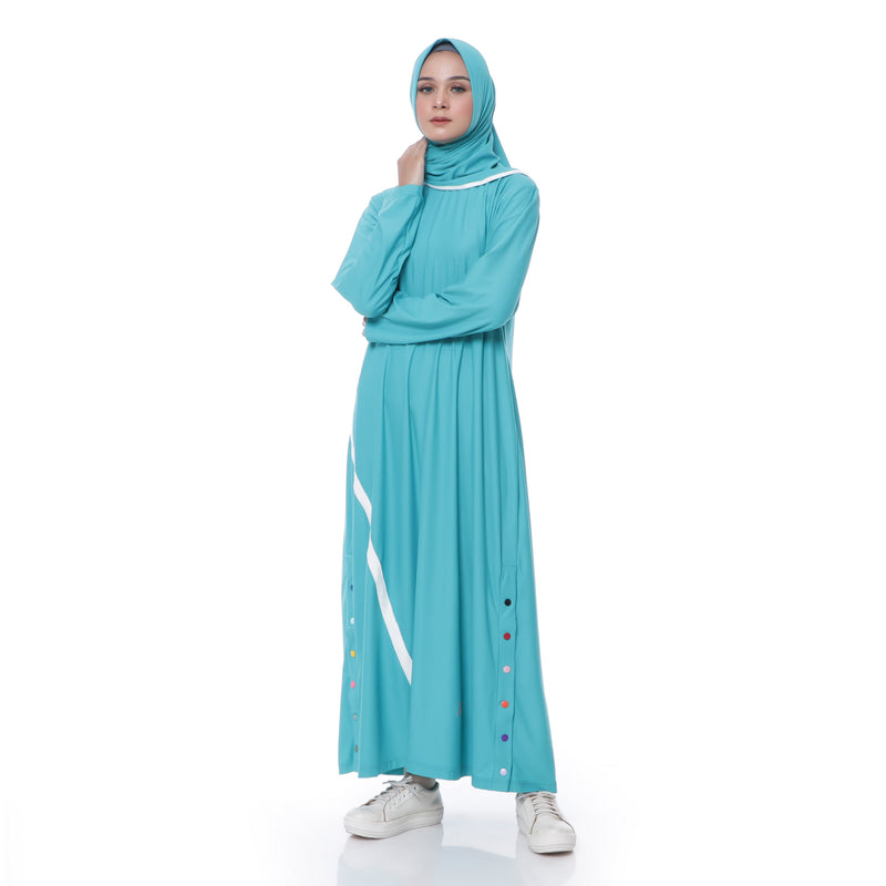Three Points Dress Tosca - White