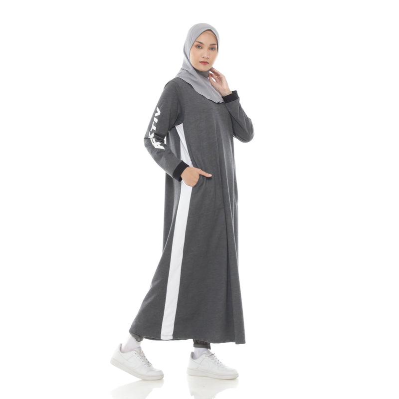 Relax Ummah Dress Grey