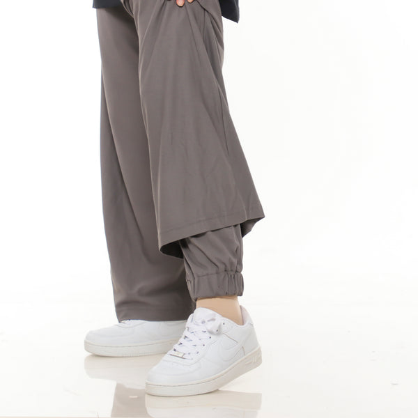 New Smart Pants Dark Grey