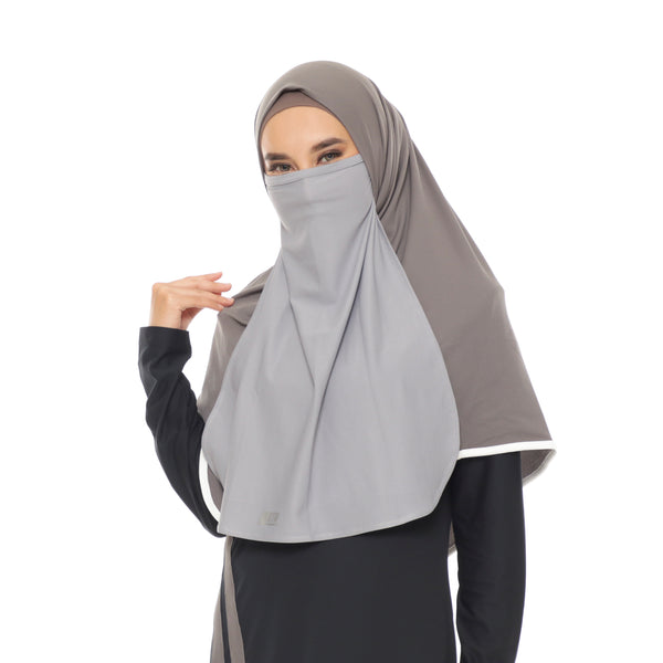 Basic Niqab Grey