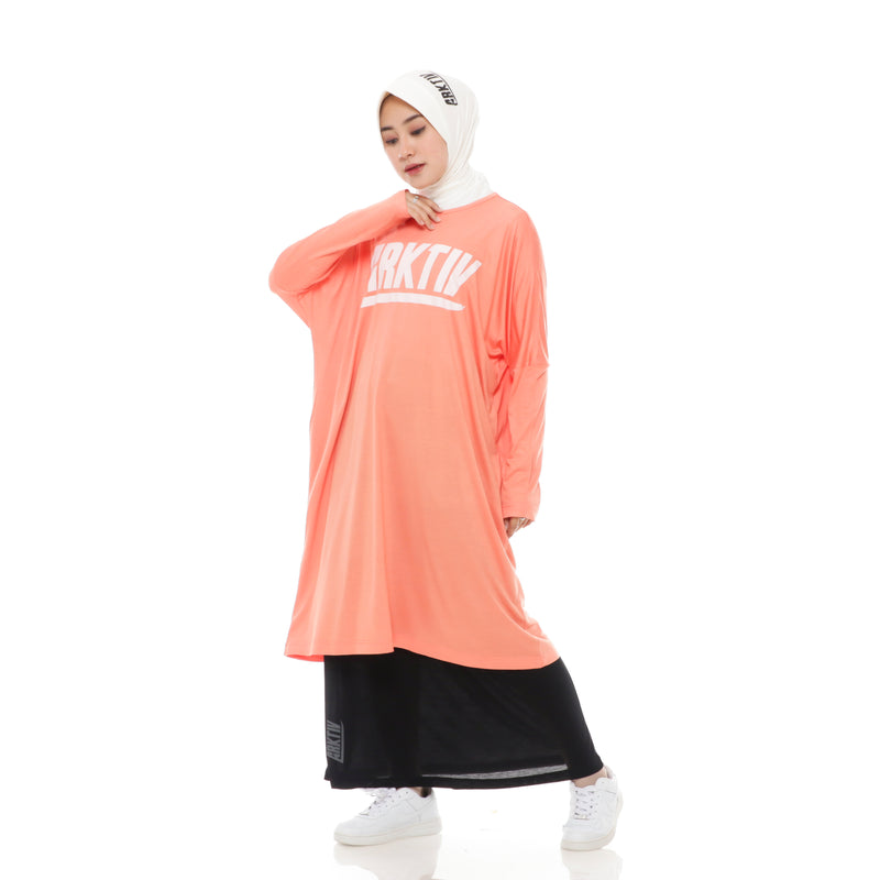 Comfy Long Tshirt Orange