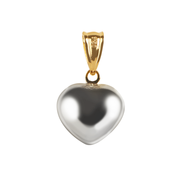 Solid Heart pendant