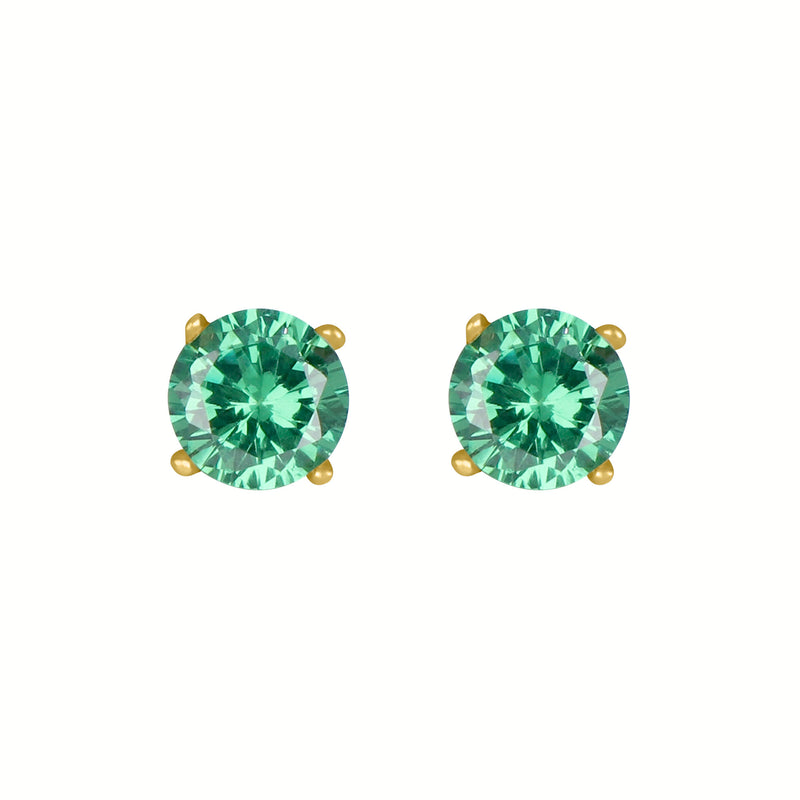 Birthstone Round Emerald for May