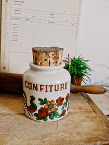 Ancien pot à confiture
