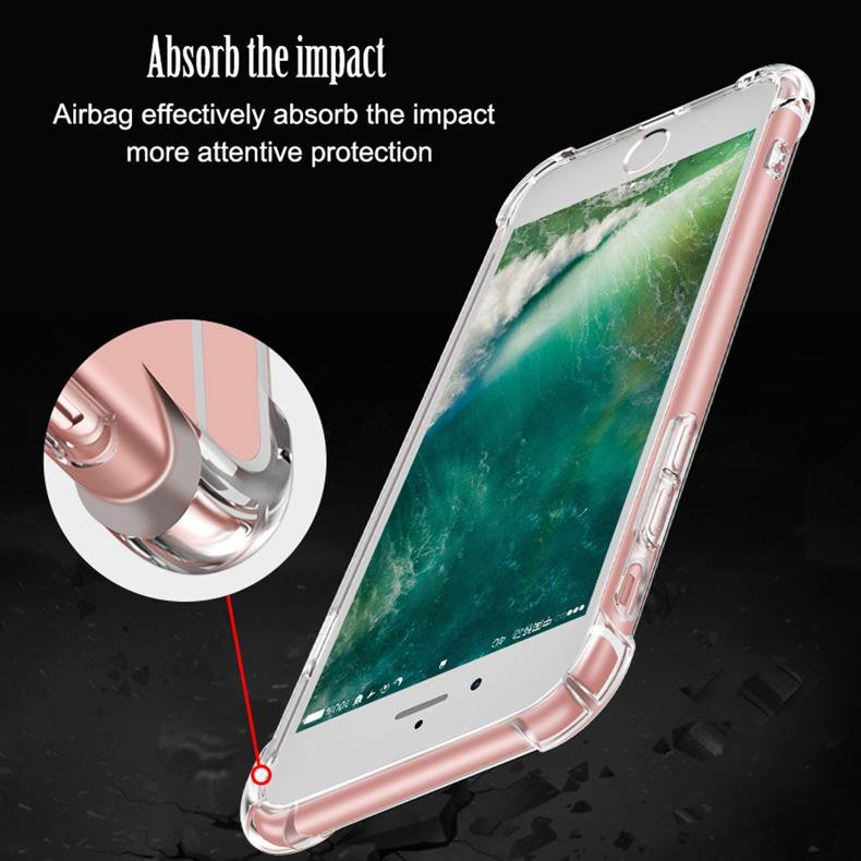 Air Cushion Shockproof phone case for IPHONE 6/6S 6/6Splus 7/8 7/8plus X XS XSmax XR