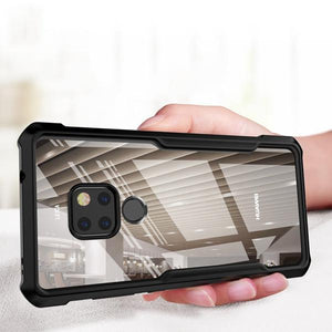 Shockproof Airbags Phone Case Transparent Silicone Protective Case for Huawei Mate 20/ Mate 20 Pro