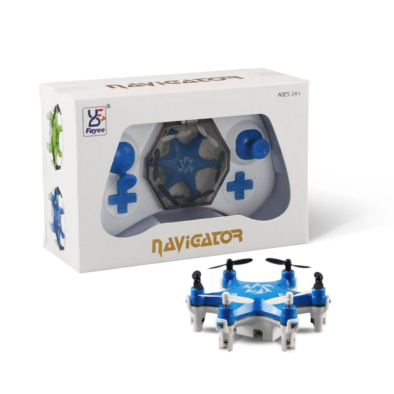 FY805 Smallest Nano Drone with 3D Flips Headless Mode Mini RC Quadcopter RC Hexacopter RTF