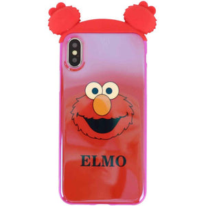 Sesame Street Blue Light TPU Soft Phone Case for iPhone 6/6s 6P/6sp 7/8 7/8 Plus X//XS XR XS Max