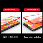 Magnetic Adsorption Transparent Tempered Glass Two side Glass Cover Phone Case For Samsung S10/ S10Plus/ S10e