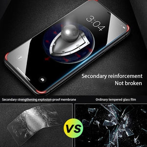 IphoneX XS XR MAX Glass anti shock anti fingerprint Screen Protector Film with free film artifact