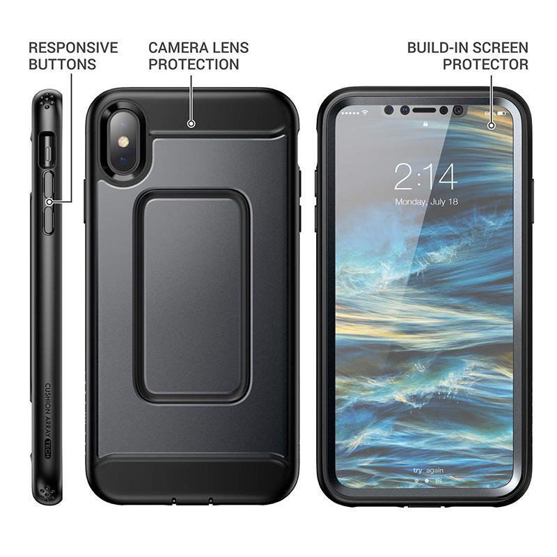 YOUMAKER Case for iPhone X XS XR XS Max Heavy Duty Protection Shockproof Slim Fit Cover