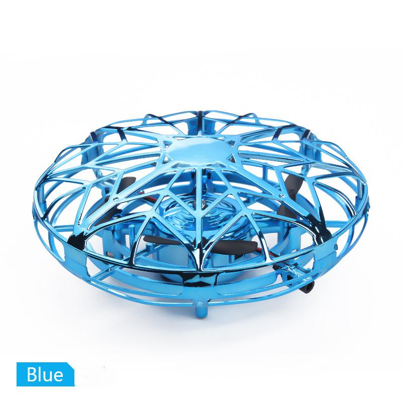 Anti-collision Infrared Induction Hand Sensor Control Floating Rotation UFO Ball Flying Drone Led Mini RC Quadcopter